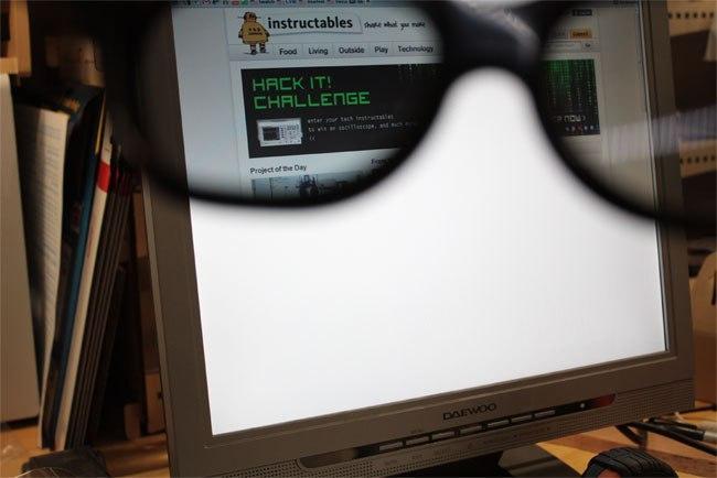 Как сделать приватный монитор из старого LCD монитора.