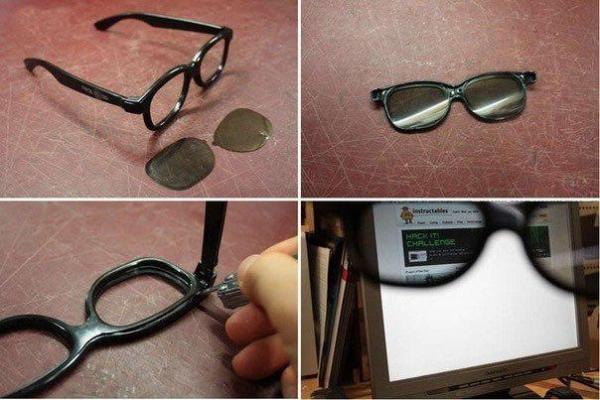 Как сделать себе очки на фото 352