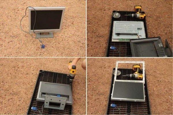Как телевизор сделать монитором ноутбука