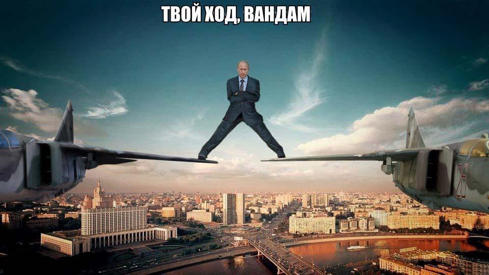 Президенты ответили на шпагат Жан-Клода Ван Дамма