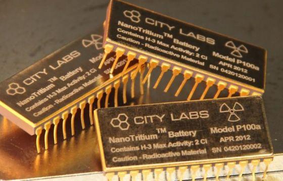 Создана атомная батарея для мобильных устройств