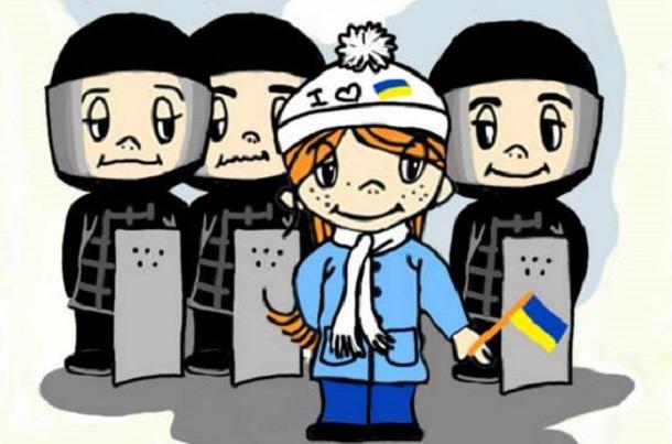 Про Євромайдан розповіли зворушливі картинки