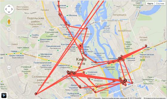 Как в Google удалить данные о своих перемещениях
