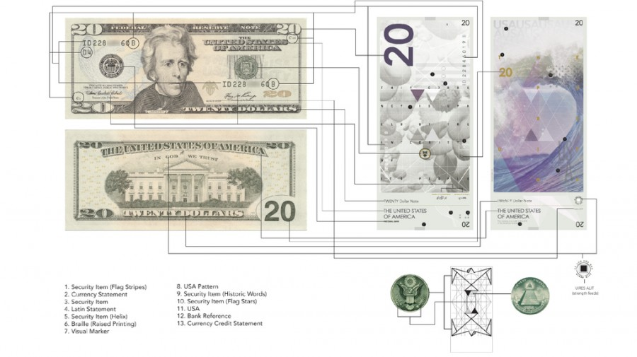Разработан новый дизайн доллара (фото)