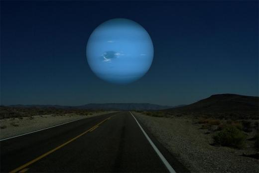Что было бы, если бы Луну заменили другой планетой (ФОТО)
