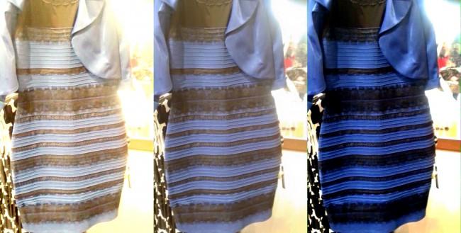 Загадка цвета платья: научная точка зрения