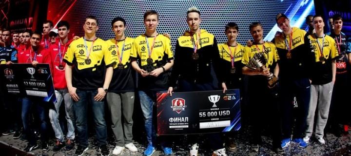 Украинские киберспортсмены Na'Vi выиграли чемпионат СНГ по World of Tanks