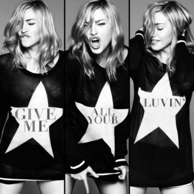 Madonna - Give Me All Your Luvin' (Single & Video) (2012)