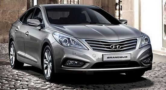 Hyundai Grandeur оказался в сети до премьеры