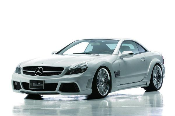 Mercedes-Benz SL Black Bison